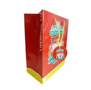 Liverpool GIFT BAG X LARGE Paper Gift Tag Football Club Team Happy Birthday