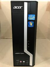 Acer veriton X4610G i3 3rd gen 3.3GHz, 4GB ram, 250GB hdd sff windows 7 wifi