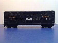 "HO Scale ""D&RGW Rio Grande"" 39497 Livestock Freight Train Car / Tyco Brand"