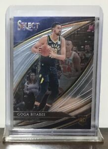 2019-20 GOGA BITADZE INDIANA PACERS PANINI SELECT COURTSIDE ROOKIE #256 RC