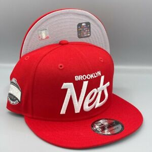 Brooklyn Nets Eastern Conf. 9FIFTY NBA New Era Snapback Red Hat