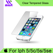 Clear Tempered Glass Screen Protector iPhone 5 / 5c / 5s / SE