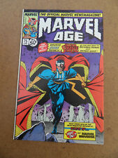 Marvel Age 75 . Dr Strange Preview . Marvel  1989 . FN / VF