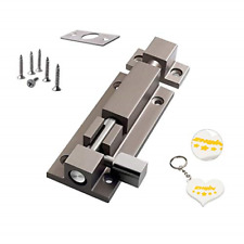 Zhi Jin 1Pc Thick Slide Barrel Door Bolt Latch Heavy Duty Gate Lock Security