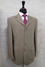 Wool Classic Suits & Tailoring for Men without Jacket Vents