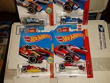 Hot Wheels Red & Blue Honda Racers 25/250 and 182/250