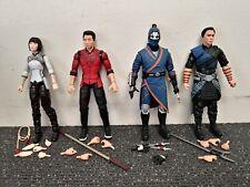 Marvel Legends Shang-Chi , Wenwu , Xialing , Death Dealer Loose Lot MCU No BAF