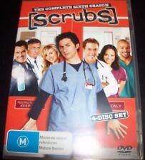Scrubs The Complete sixth Season 6 (Australia Region 4) DVD– Like New