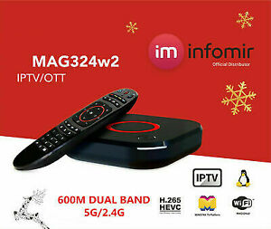 Informir MAG324W2 set top box + FREE ACCESSORY OF YOUR CHOICE!