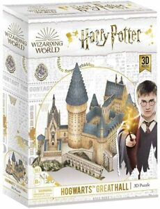 Harry Potter Hogwarts Great Hall 185pc 3D Puzzle