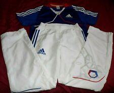 Ensemble Maillot+Pantalon Adidas Officiel Equipe De France Olympique T M