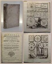 Reviczky Elementa Philosophiae Naturalis Pars Altera 1758 mit Kupfertafeln xz