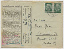 1941 Germany Auschwitz Concentration Camp Cover Benedict Mike Sosnowitz Ghetto 5