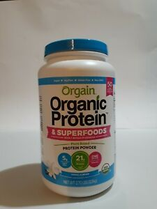 Orgain Organic Protein and Superfoods Powder with probiotics  plant based