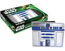 Disney Star Wars R2-D2 oficial con licencia Bi-Cartera Plegable/Soporte de tarjeta.