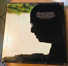 Casals conducts Bach 6 Brandenburg Concertos 3 LPs Columbia D3S816/MS7376 NM