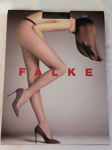 "Falke ""Old Fashioned"" Tights, Black, L"