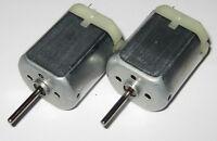2 X 280 Mabuchi DC Motor / Mini Generator - 12 VDC - Generate 1 V per 800 RPM