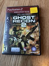 Tom Clancy's Ghost Recon 2 (Sony PlayStation 2, 2004) PS2 Cib Game H1