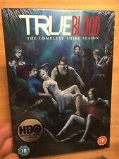 True Blood:Complete Third Season/Series 3(R2 DVD)New+Sealed Anna Paquin Three