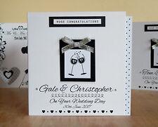 Carta per matrimonio biglietto personalizzato Fidanzamento Anniversario Congratulazioni speciali