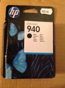 GENUINE HP HEWLETT PACKARD HP 940 BLACK INK CARTRIDGE C4902AE UN