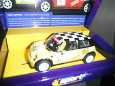 Mini Cooper Scalextric Slot Cars (1980-Now)