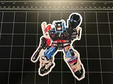 Transformers G1 Defensor box art vinyl decal sticker Autobot toy Protectobots