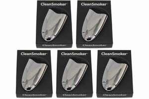 5 x CleanSmoker chrome Taschenaschenbecher Chromeoptik Aschenbecher für Tasche