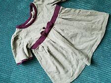 maggie zoe summer grey dress girl 12-18 months