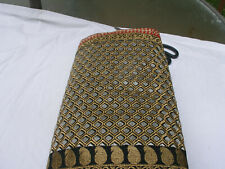 NEW BOLLYWOOD INDIAN EMBROIDERED WORK SILK SAREE PARTYEID BRIDAL PARTY