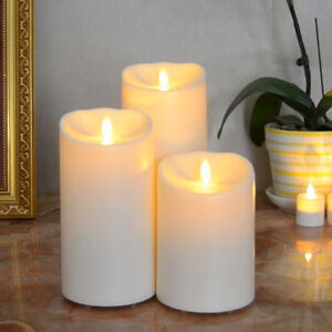Luminara Outdoor Flameless Led Candle Unscented Battery Operated with Timer