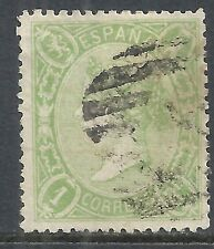 Spain stamps 1865 YV 76  CANC  F/VF