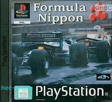 Formula Nippon Sony Playstation 1 PS1 3+ Racing Game