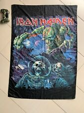 IRON MAIDEN Maiden FLAG CLOTH POSTER WALL TAPESTRY BANNER CD Heavy Metal 2010