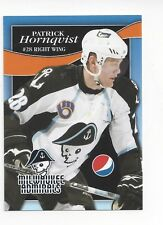 2008-09 Milwaukee Admirals (AHL) Patric Hornqvist (Pittsburgh Penguins)