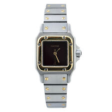 Cartier Santos Galbee 18K Gold and Stainless Steel Automatic Ladie's Watch 24mm