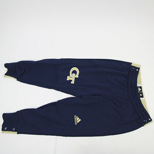 Georgia Tech Yellow Jackets adidas Athletic Pants Women's Navy/Gold Used