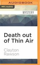 Don Diavolo Mysteries: Death Out of Thin Air by Clayton Rawson (2016, MP3 CD,...