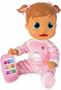 IMC Interactive Talking Baby Wow Emma (English Language Version) Pink