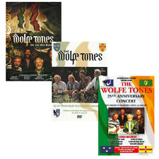 Wolfe Tones DVD Irish Rebel Collection featuing over 60 tracks (3 DVDs)