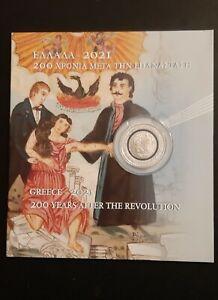 1821-2021 200 YEARS AFTER GREEK REVOLUTION COMMEMORATIVE MEDAL