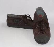 Diesel Men's Canvas Shoes Sz 10.5 Casual Skate Low Top Brown