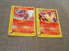 Pokemon Center NY Black Star Promo Promotional Set Rapidash #51 and Ho-oh #52