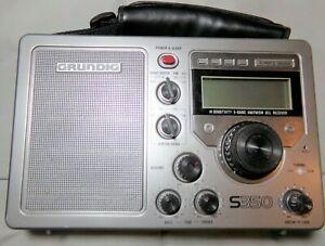 Grundig S350 AM/FM High Sensitivity 5-Band Aw Bcl Receiver Radio Tested