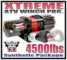 4500Lb Xtreme Atv Winch 2014-19 Honda Foreman Trx500 4500 Lb