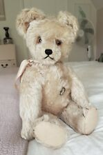 "Antique 17"" Schuco Yes No Teddy Bear 1940's"