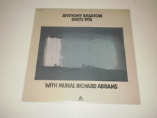 ANTHONY BRAXTON - DUETS 1976 - LP 1976 ARISTA MADE IN ITALY - EX++/EX+