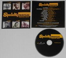 Larry Williams, Lloyd Price, John Lee Hooker, Percy Mayfield  U.S. promo cd