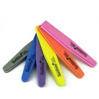 Nail File Double Sided Waterproof 100/180 Grit Nail Art Tips Buffer Soft Sponge